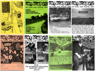 Ontroad-Fanzine über Halil Ibrahim Dinçdağ und seinen Besuch in Berlin