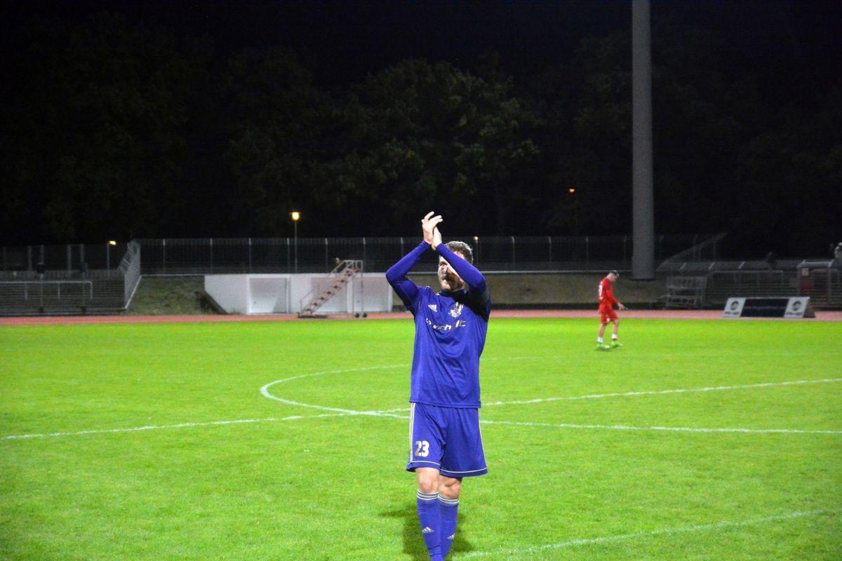 Oberliga 19/20, 6. Spieltag: Tennis Borussia Berlin vs. Blau-Weiß 90
