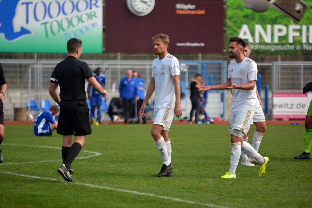 Oberliga 19/20, 9. Spieltag: TSG Neustrelitz vs. Tennis Borussia Berlin