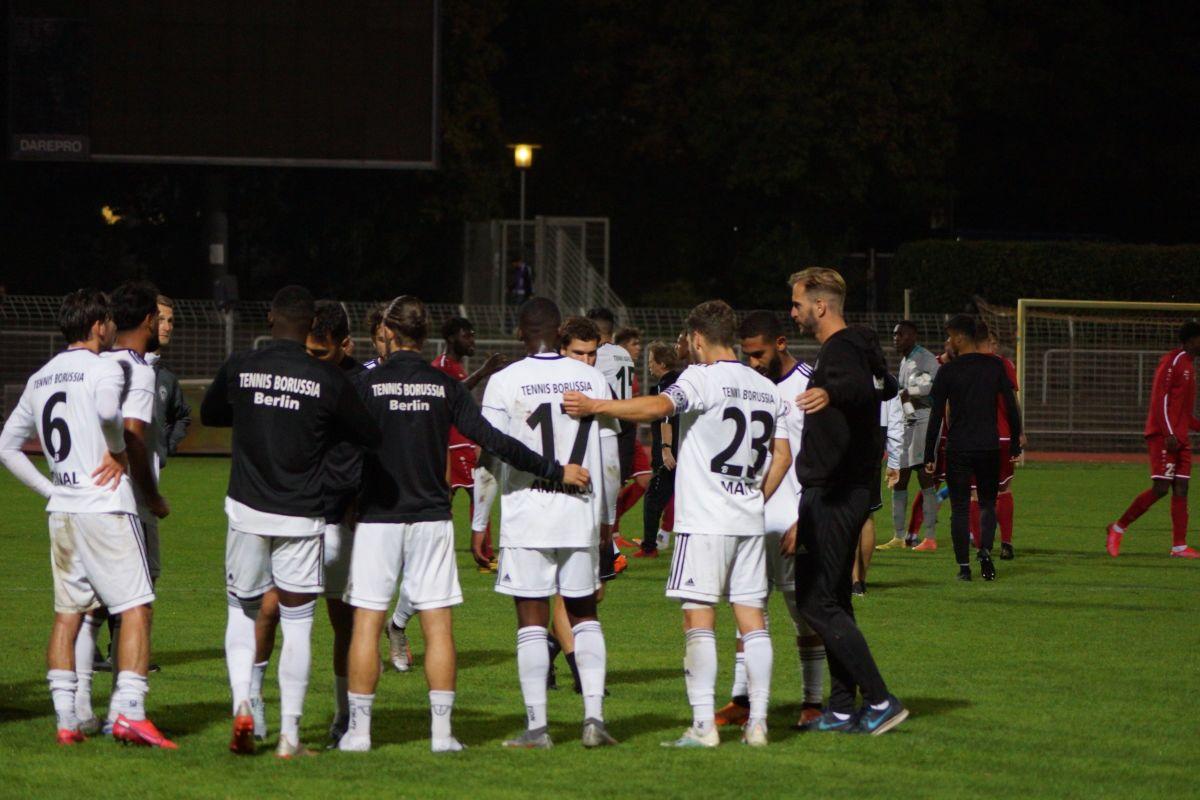 Regionalliga 20/21, 7. Spieltag, Tennis Borussia vs. Germania Halberstadt