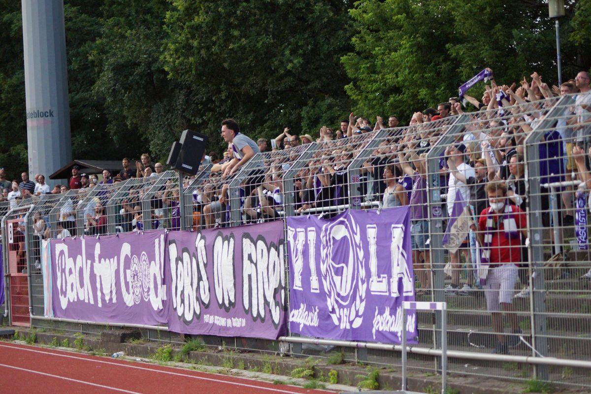 Regionalliga 21/22, 2. Spieltag, Tennis Borussia vs FSV Union Fürstenwalde