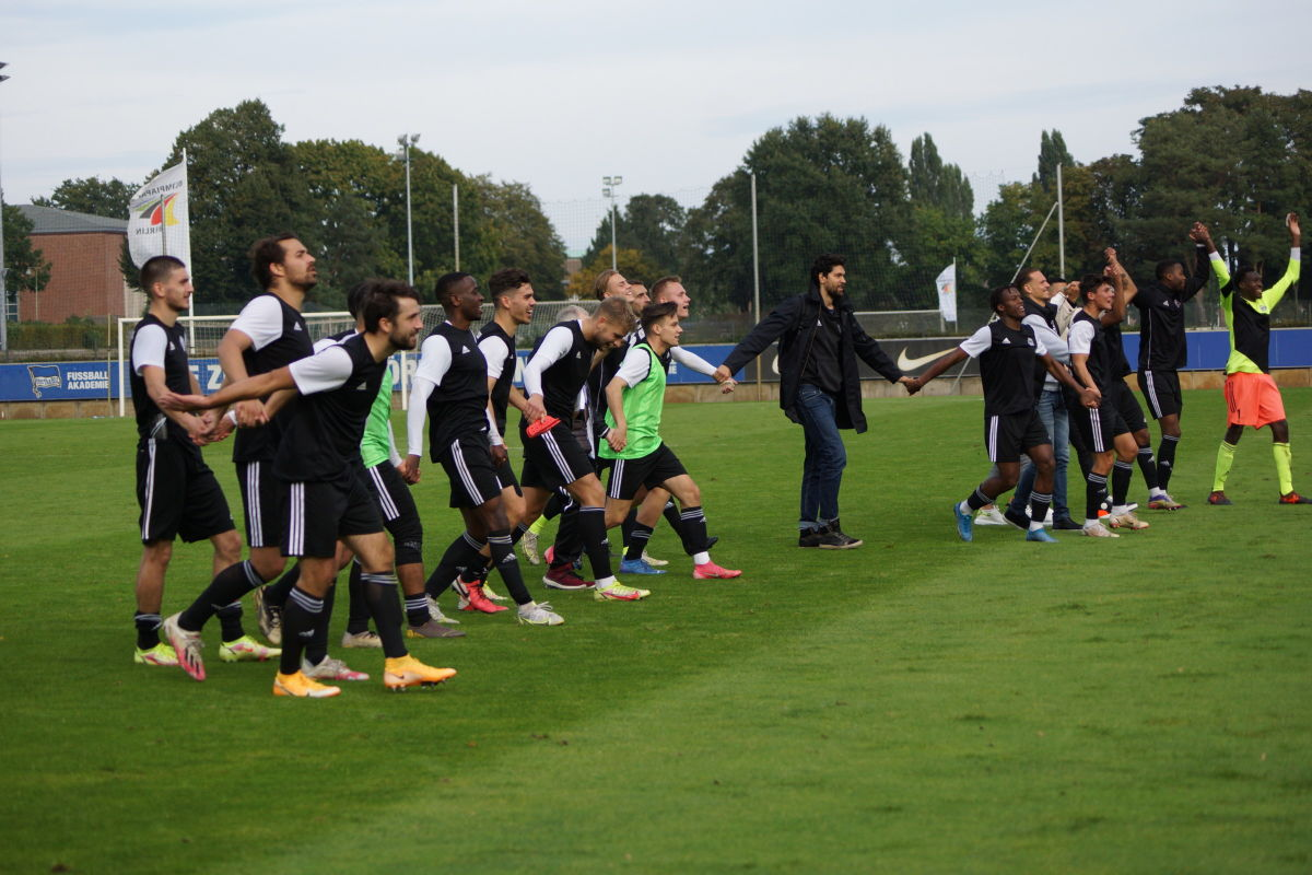 Hertha BSC II gegen TeBe 0:1, 03.10.2021, Regionalliga Nordost