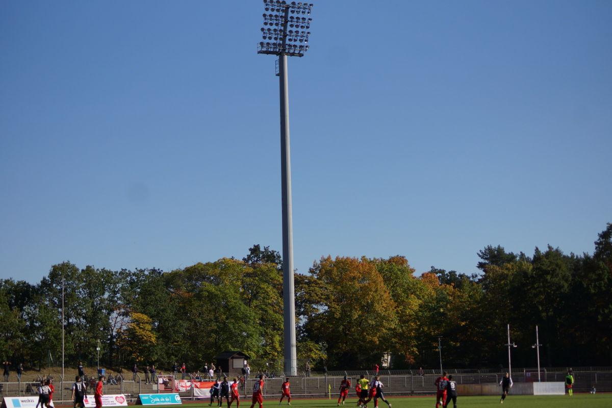 AOK-Landespokal 21/22, 3. Runde, Tennis Borussia vs Berliner AK (1:2)