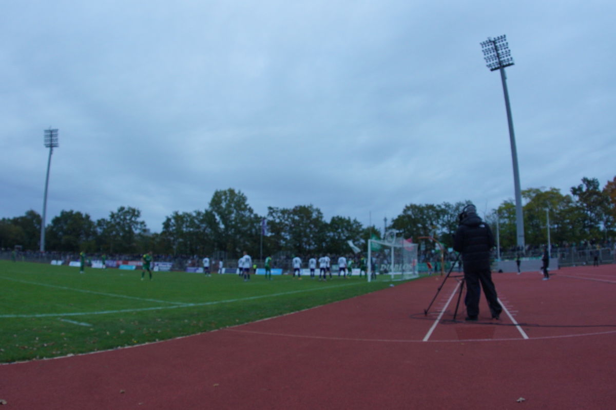TeBe – Chemie Leipzig 0:1, 17.10.2021, Regionalliga Nordost, Mommsenstadion